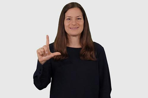 ASL in American Sign Language (ASL)