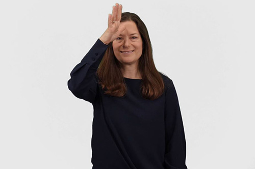 Dad in American Sign Language (ASL)