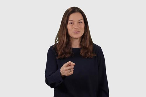 You in American Sign Language (ASL)